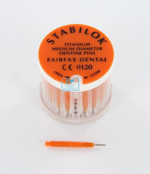 FAIRFAX STABILOK MEDIUM ORANJE STANDAARD TITANIUM (20st)