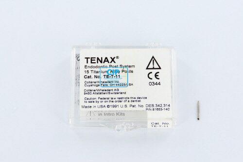 WHALEDENT TENAX TITANIUM STIFTEN TE-T-11 ZWART (15st)