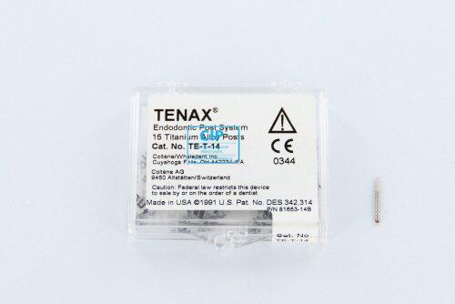 WHALEDENT TENAX TITANIUM STIFTEN TE-T-14 ROOD (15st)