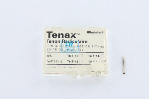 WHALEDENT TENAX TITANIUM STIFTEN TE-T-17 ZWART (15st)