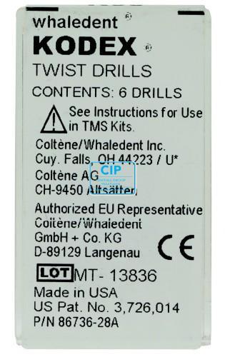 WHALEDENT TMS BOREN K-89 ROZE (6st)