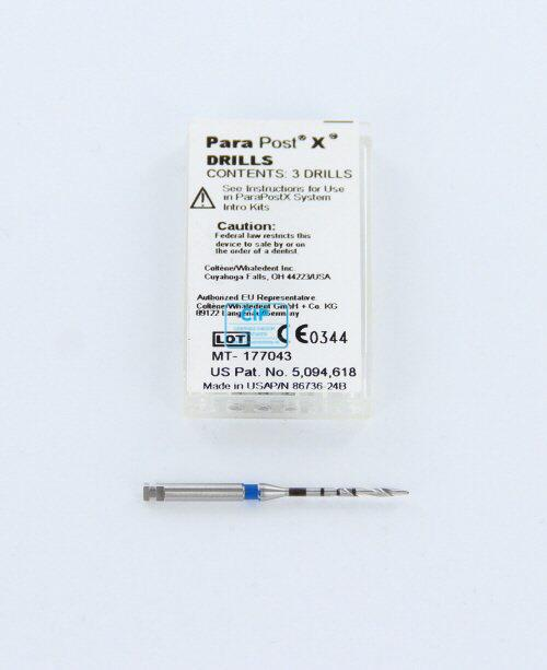 WHALEDENT PARAPOST BOREN P42-4.5 BLAUW Ø 1,14mm (3st)