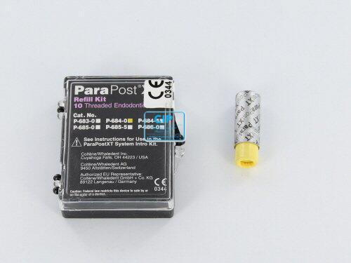 WHALEDENT PARAPOST XT STIFTEN P684-0 GOUD (10st)