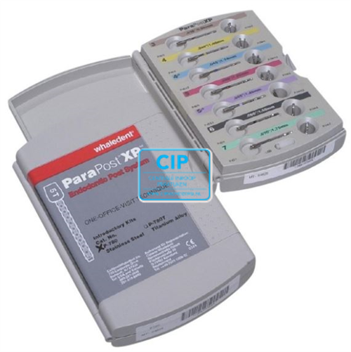 WHALEDENT PARAPOST XP STAINLESS INTRODUKTIEKIT P-780