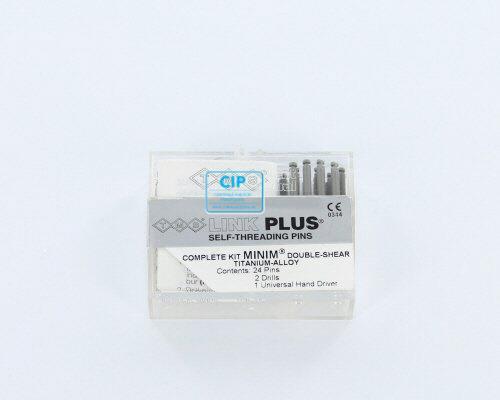 WHALEDENT TMS LINK PLUS MINIM 2/1 STIFTEN EL841-24 ZILVER