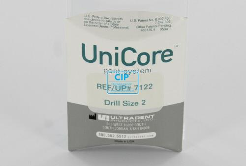 ULTRADENT UNICORE BOOR SIZE 2 ROOD 1,0mm (1st)
