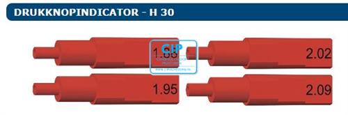 CEKA PRECI-LINE DRUKKNOPINDICATOR SET H30 (4st/1,88/1,95/2,02/2,09)
