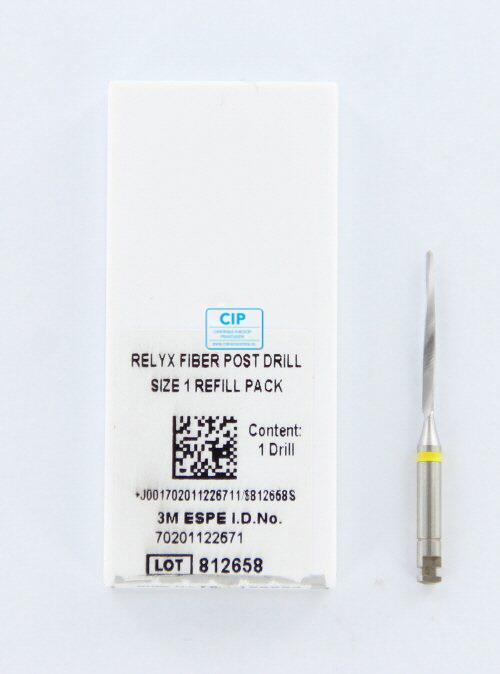 3M ESPE RELYX FIBERPOST BOOR NR.1 GEEL 1,3mm (1st)