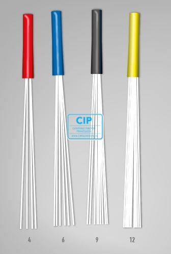 BIOLIGHT PLUS FIBER 6 MICRO-POSTS 1,0mm BLUE (5st)