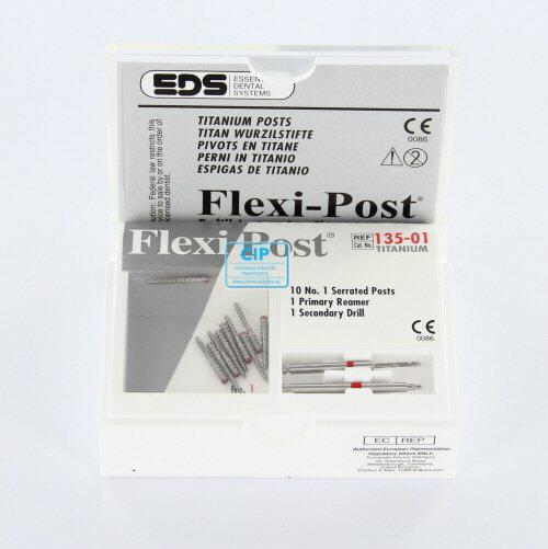 EDS FLEXIPOST TITANIUM REFILL MET 2 BOREN NR.1 ROOD (10st)