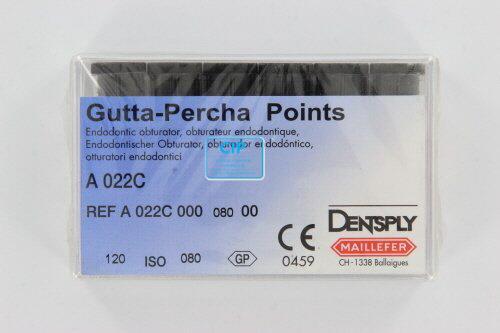 MAILLEFER GUTTA PERCHA POINTS NR.80 PINK (120st)