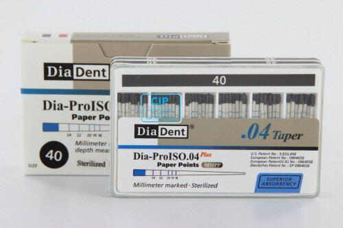 DIADENT PAPERPOINTS .04 NR.40 ZWART (100st)