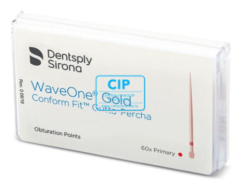 DENTSPLY SIRONA GP POINTS VOOR WAVE ONE GOLD CONFORM FIT PRIMARY (60st)