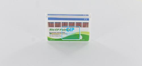 SUREDENT BIOCERAMIC IMPREGNATED GUTTA PERCHA POINTS VOOR PROTAPER F3 (Slide box, 60st)