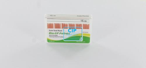 SUREDENT BIOCERAMIC IMPREGNATED & COATED GUTTA PERCHA POINTS 15.06 (Slide box, 60st)