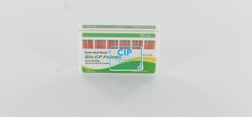 SUREDENT BIOCERAMIC IMPREGNATED & COATED GUTTA PERCHA POINTS 35.06 (Slide box, 60st)
