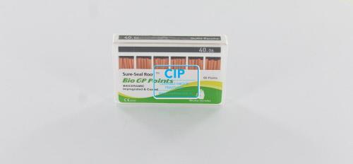 SUREDENT BIOCERAMIC IMPREGNATED & COATED GUTTA PERCHA POINTS 40.06 (Slide box, 60st)
