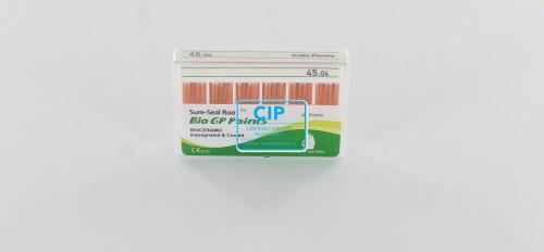 SUREDENT BIOCERAMIC IMPREGNATED & COATED GUTTA PERCHA POINTS 45.04 (Slide box, 60st)