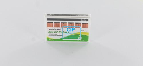 SUREDENT BIOCERAMIC IMPREGNATED & COATED GUTTA PERCHA POINTS 80.04 (Slide box, 60st)