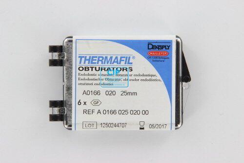 MAILLEFER THERMAFIL OBTURATORS 25mm NR.20 GEEL (6st)