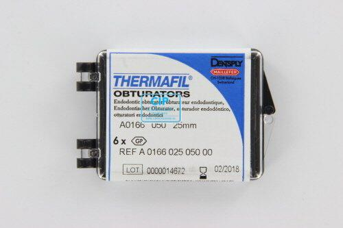MAILLEFER THERMAFIL OBTURATORS 25mm NR.50 GEEL (6st)