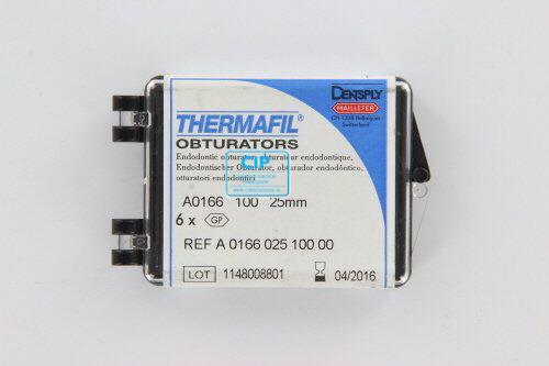 MAILLEFER THERMAFIL OBTURATORS 25mm NR.100 GEEL (6st)