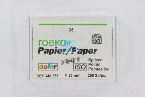 ROEKO PAPERPOINTS ISO-COLOR NR.35 GROEN (200st)