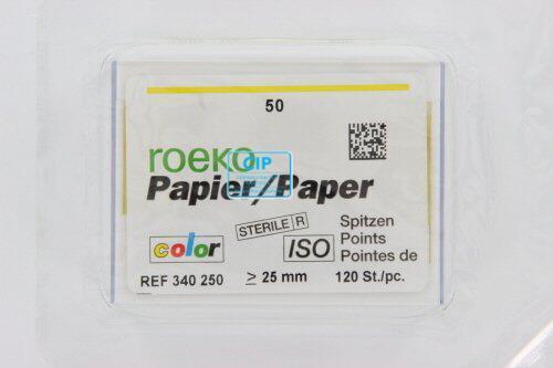 ROEKO PAPERPOINTS ISO-COLOR NR.50 GEEL (120st)