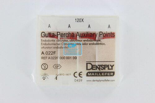 MAILLEFER GUTTA PERCHA HULPSTIFTEN (AUXILIARY POINTS) A 120st