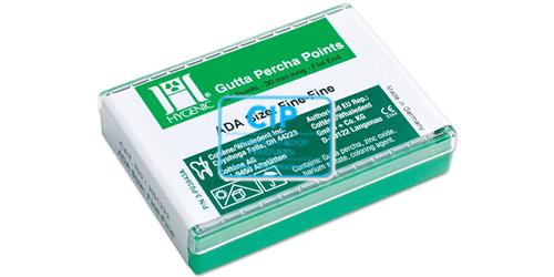 HYGENIC GUTTA PERCHA POINTS F-FINE H01222 (100st)