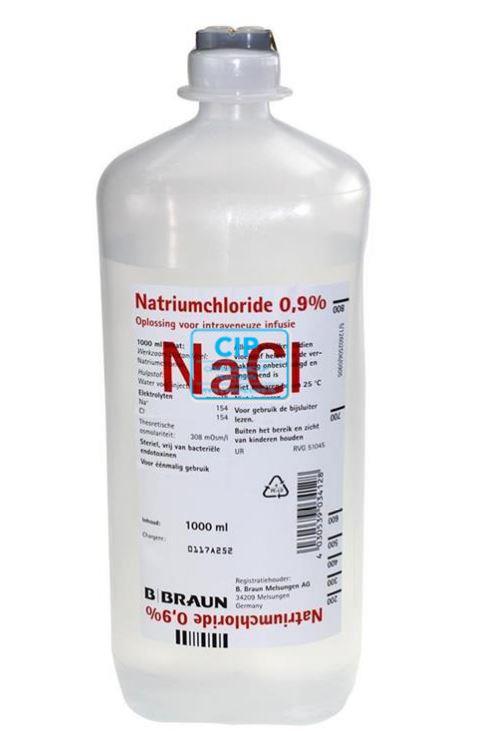 B. BRAUN NATRIUMCHLORIDE 0,9% IN ECOFLAC (1000ml)