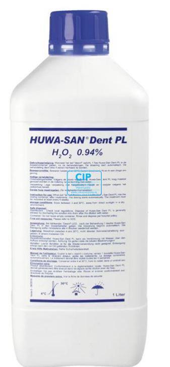 HUNGERBACH HUWA SAN DENT PL WATERSTOF PEROXIDE 0,94% (1ltr)