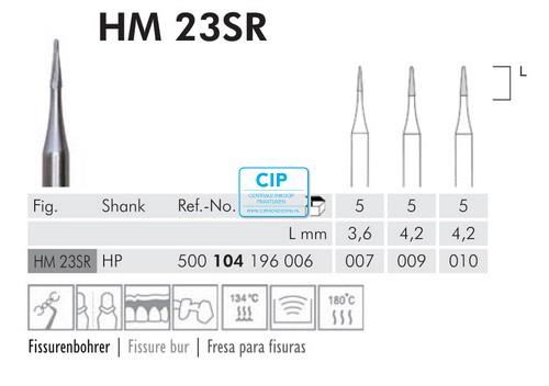 MEISINGER HP CARBIDE 23SR010 (5st)