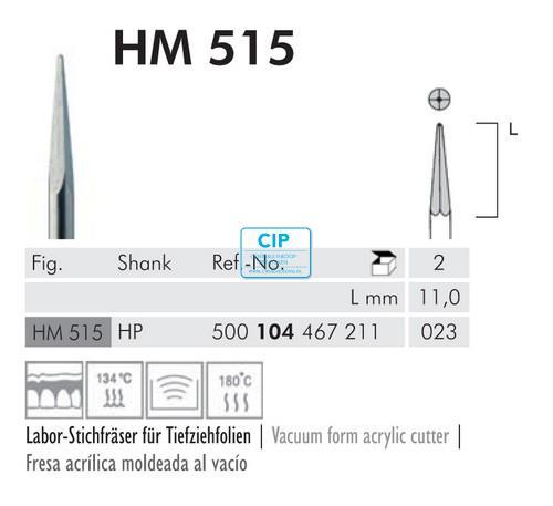MEISINGER HP RVS SPIRAALBOREN 515/023 (2st)