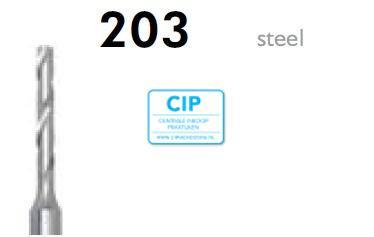 MEISINGER HP SPIRAALBOREN 203/021 (10st)