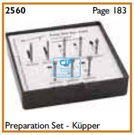 MEISINGER FG PREPARATIE-SET VOLGENS KUEPPER NR.2560