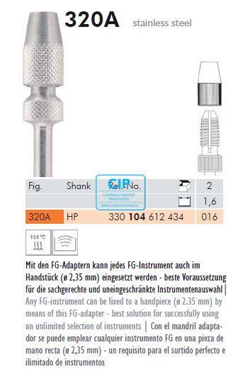 MEISINGER FG-HP ADAPTER 320A (2st)
