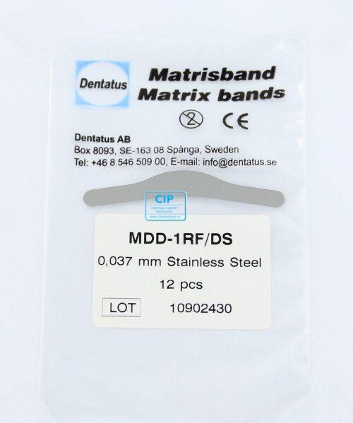 DENTATUS RVS MATRIXBANDJES NR.1 X-DUN (12st)