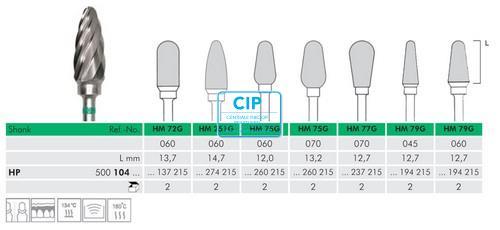 MEISINGER HP CARBIDE FRAIS 72G060 (1st)