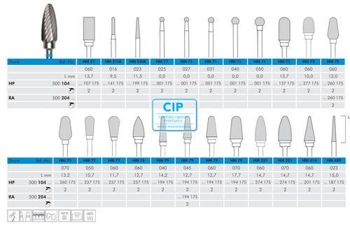 MEISINGER HP CARBIDE FRAIS 75/060 (1st)