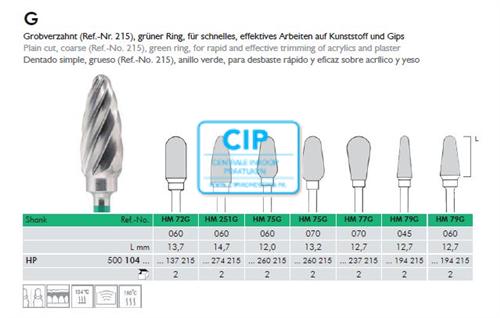 MEISINGER HP CARBIDE FRAIS 77G070 (1st)