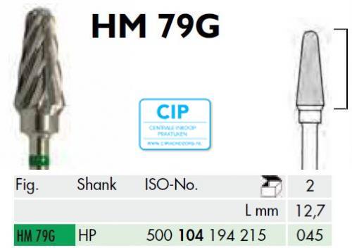 MEISINGER HP CARBIDE FRAIS 79G045 (1st)