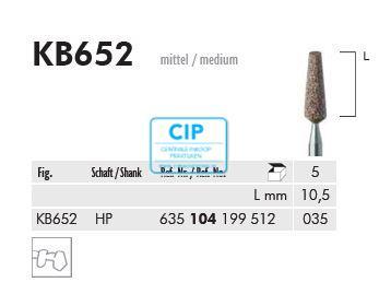 MEISINGER HP KERAMISCHE SLIJPKOP KB652 (5st)