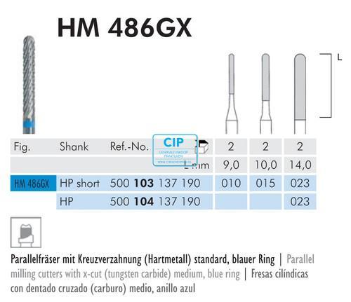 MEISINGER HP CARBIDE MINI-FRAIS 486GX023 (2st)