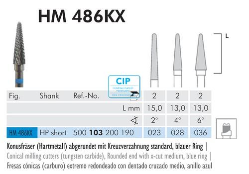 MEISINGER HP CARBIDE FRAIS 486KX028 (2st)