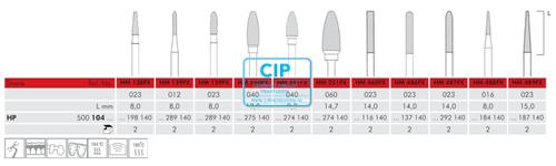 MEISINGER HP CARBIDE FRAIS 488FX016 (2st)