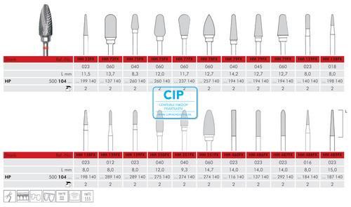 MEISINGER HP CARBIDE FRAIS 489FX023 (2st)