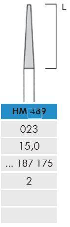 MEISINGER HP CARBIDE FRAIS 489S023 (2st)
