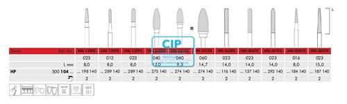 MEISINGER HP CARBIDE FRAIS DBS 251FX/040 (1st)