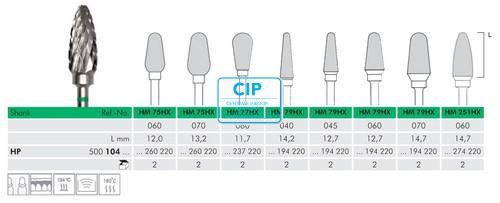 MEISINGER HP CARBIDE FRAIS DBS 77HX060 (1st)